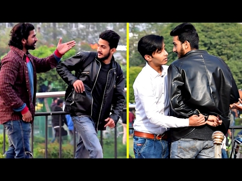 Download Youtube: Showing Middle Finger Prank 🖕 (Part 2) | AVRprankTV | Pranks In India