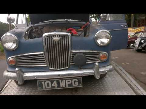 wolseley 1500 starts after 27 years