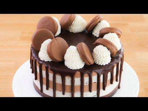 Cheesecake de Oreo y Nutella (sin horno) ☆ Tan Dulce