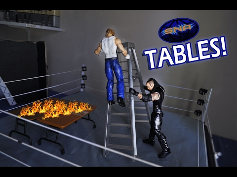Wwe Stop Motion Tables Montage