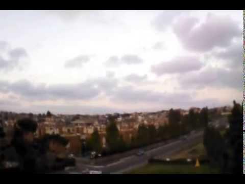 Flying over Parco della Madonnetta Acilia Roma AR Drone Parrot 2.0 GPS