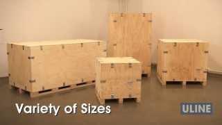 Heavy Duty Wood Crates