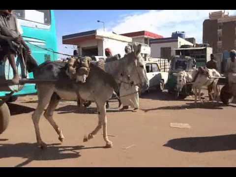 Sudan: Moving Around in Khartoum スーダン旅行 ハルトゥーム