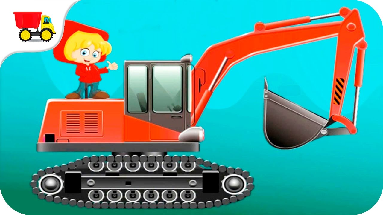 Build a car games for kids - Build Construction Machines Construction Vehicles For Kids Trucks Cartoon Kids Car Games