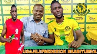 Usajili:Umafia! Kaze NTIBAZONKIZA wamvuta YANGA Frederick NSABIYUMVA wa chipa united ya Afrika kusin