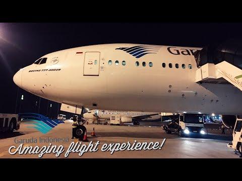 Garuda Indonesia B777-300ER Business Class VLOG | GA 421 Amazing Flight Experience | Bali to Jakarta