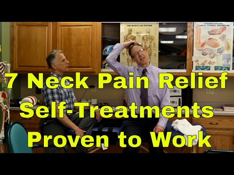 7 Neck Pain Relief Self Treatments Proven to Work