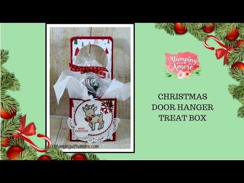 Christmas Door Hanger Treat Box