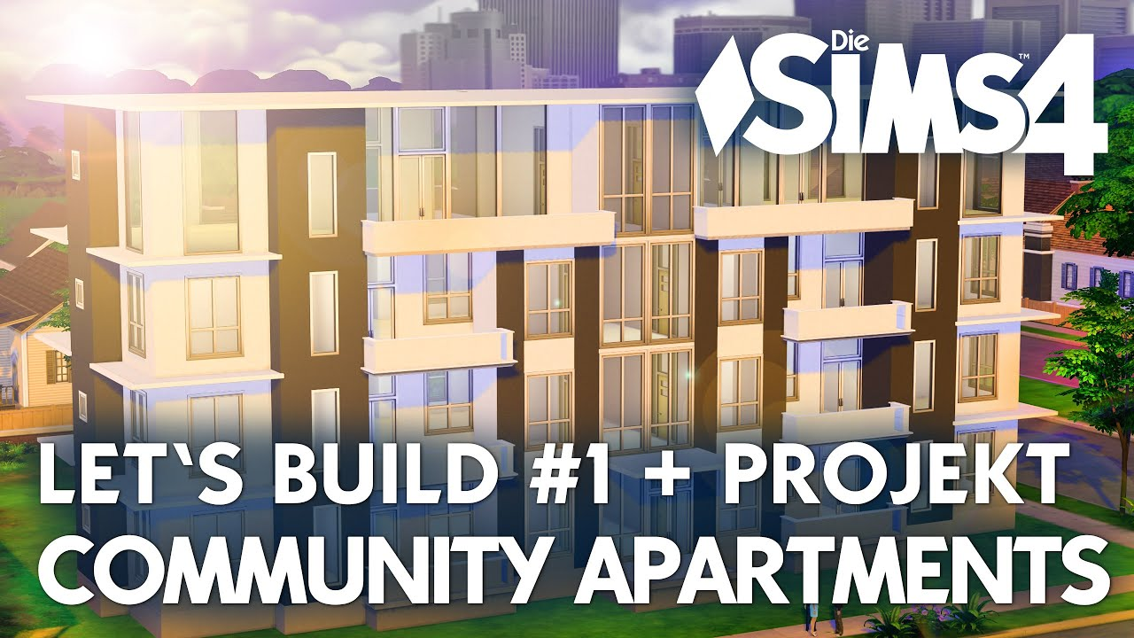 Sims  How To Build An Apartment