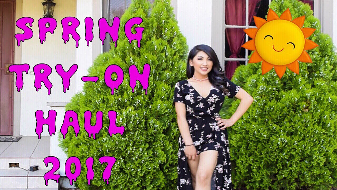 e4a677f27aa782 🌞 SPRING SUMMER TRY-ON HAUL 2017! Urban