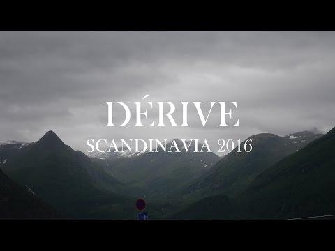 DÉRIVE   SCANDINAVIA 2016