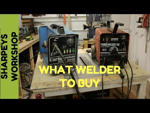 Welding Getting Started (part 1) What Welder To Buy