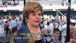 Cindy Jacobs - mesaj profetic - proteste si violentele din 10 august; coruptia din Romania