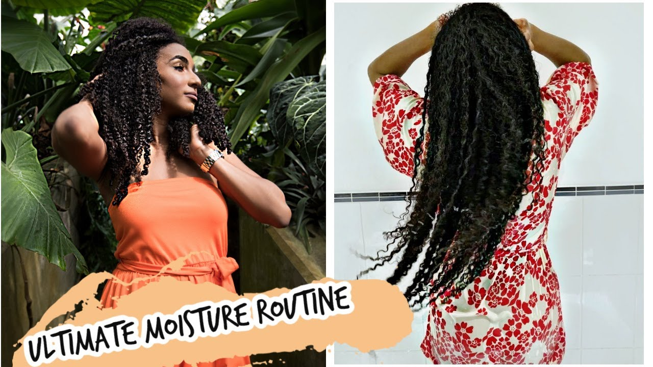 The ultimate natural hair hydration routine.