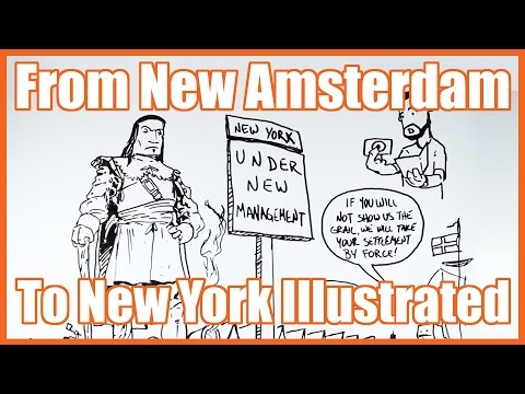 From New Amsterdam to New York Illustrated - @MrBettsClass