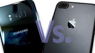 Camera Showdown! Galaxy S8 Plus Vs. iPhone 7 Plus