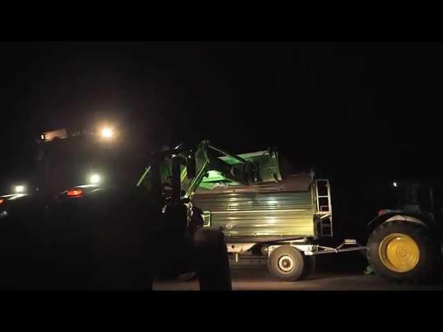 John Deere Frontlader der Serie R - Frontlader-Scheinwerfer