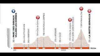Giro del Delfinato 2017 6a tappa Villard les Dombes-La Motte Servolex (145 km)