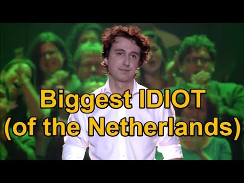 The DUTCH Green Party's leader is a huge Idiot