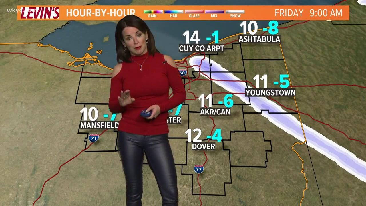 morning weather forecast for northeast ohio  february 2