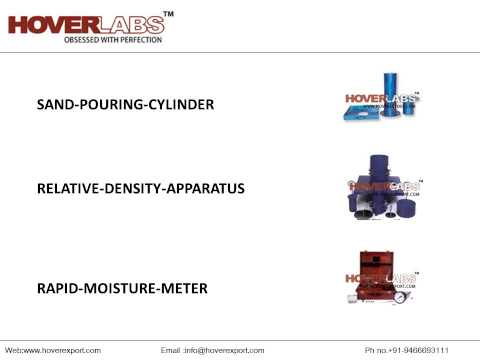 Soil Testing Lab Equipments From HOVERLABS, India