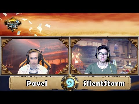 Hearthstone: Pavel vs SilentStorm - HCT Europe Summer 2017 (Round 1)