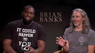 'Brian Banks' Press Junket With Brian Banks And Director Tom Shadyac