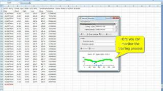 Neural Network Stock Price Prediction in Excel