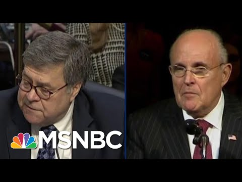 Trump Attorney General Barr Is Caught In A Double Mueller Bind | The Beat With Ari Melber | MSNBC