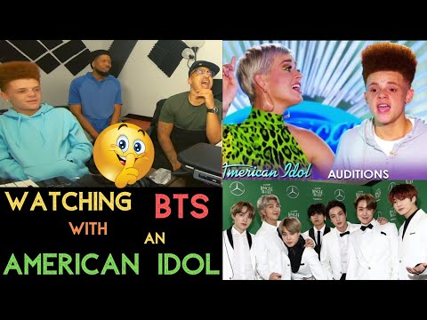 WATCHING BTS WITH AN AMERICAN IDOL- KITO ABASHI REACTION