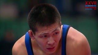 61 kg Imam Adzhiev (RUS) - Nyurgun Skryabin (RUS) (Ivan Yarygin 2016) Final