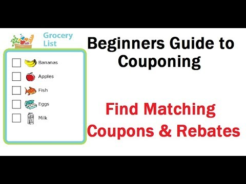 how to get coupons for groceries