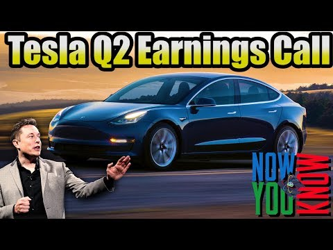 In Depth - Tesla Q2 Earnings Call