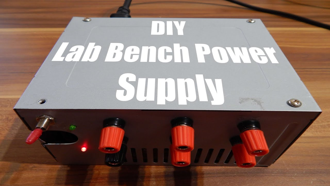 DIY Lab Bench Power Supply - YouTube