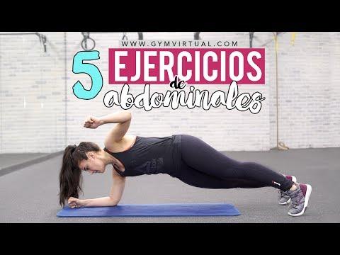Tonificar abdomen | 5 ejercicios