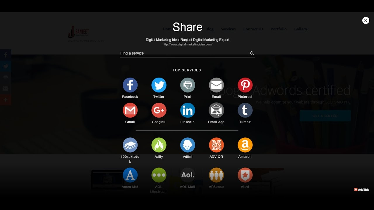 WordPress Plugins- Share Buttons by AddThis, Free Social Sharing Plugin for WordPress