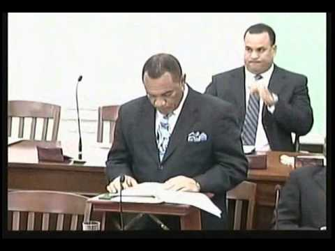 Prime Minister Perry G. Christie ~ 2012 Gambling Referendum Announcement