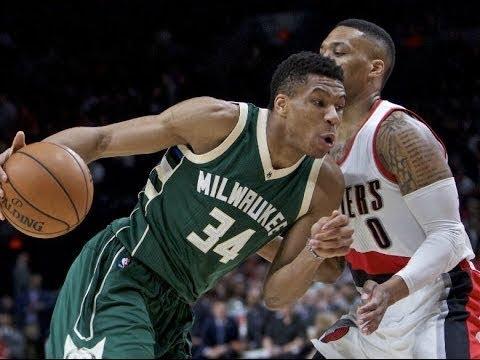Portland Trail Blazers vs Milwaukee Bucks Full Game Highlights | Oct 21, 2017 | 2017-18 NBA season