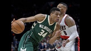 Portland Trail Blazers vs Milwaukee Bucks Full Game Highlights | Oct 21, 2017 | 2017-18 NBA season