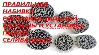 Інструкція по набиванні ректифікаційної колони СПП і Пижами Селиваненко