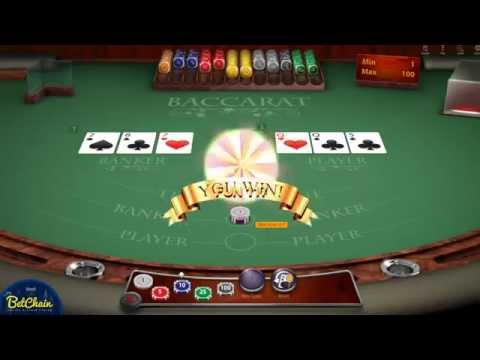 Bitcoin Casino Baccarat - Play Baccarat For Bitcoins At BetChain - The Best Online Bitcoin Casino