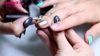 Как сделать эффект кракелюра на ногтях? Гель-лак TNL Crack растрескивающийся лак на ногтях