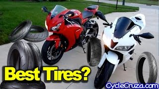 Best Motorcycle Tires - My Tire Experience 250cc 600cc 1000cc