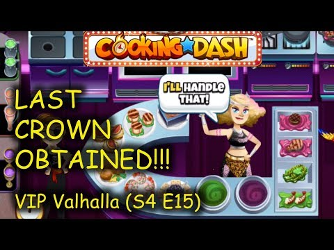 5S&ACS: VV (S4 E15) = THE FINAL CROWN OBTAINED!!! (Cooking Dash - VIP Valhalla)
