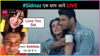 #SidNaaz Live TOGETHER On Their Song Bhula Dunga | Talk About Their RELATIONSHIP | Sidharth Shenaz