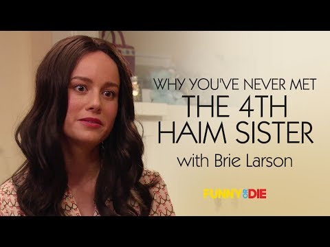Why Youve Never Met The 4th Haim Sister with Brie Larson
