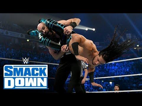Ali & Shorty G vs. Shinsuke Nakamura & Cesaro: SmackDown, Nov. 8, 2019