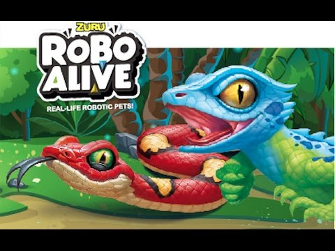 ROBO ALIVE I Real-life Robotic Pet Snake & Lizard  I  TV Commercial I  New Toys
