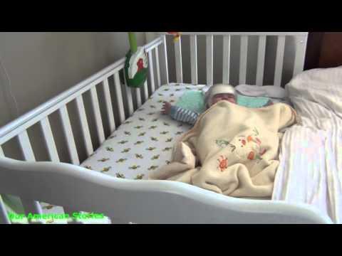 США | VLOG Новая кровать для младенца