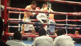 "Daniel ""Huracan"" Ramirez( 1(1KO) - 0 ) vs Angel Prado (Debut) BOX profecional"